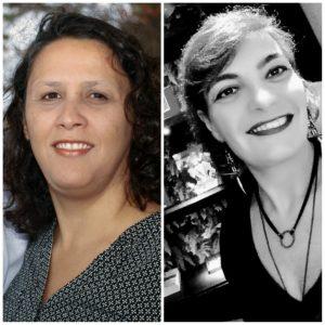 Juliana Tavares e Gláucia Viola
